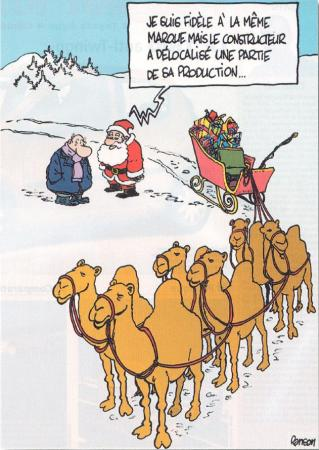 délocalisation!
