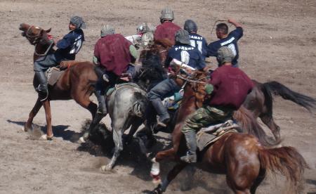 Oulak-Tartysch en Kirghize, Bouzkachi en Afghan